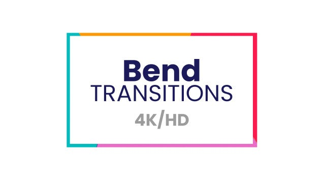 Bend Transitions: After Effects Presets