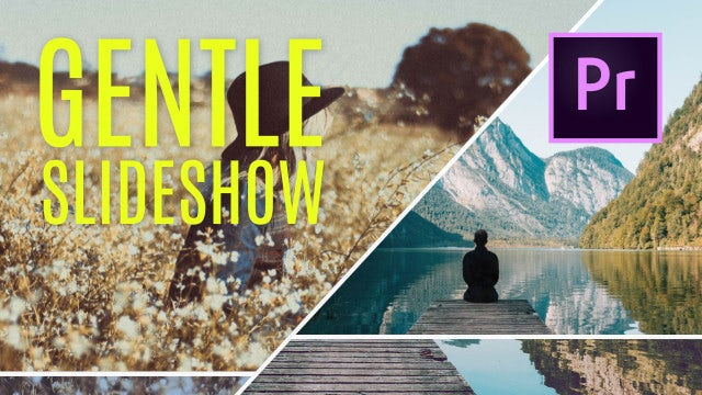 Gentle Photo Slideshow: Premiere Pro Templates