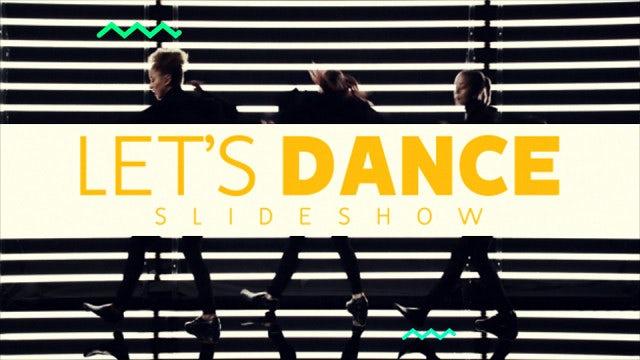 Slideshow - Let's Dance: Premiere Pro Templates