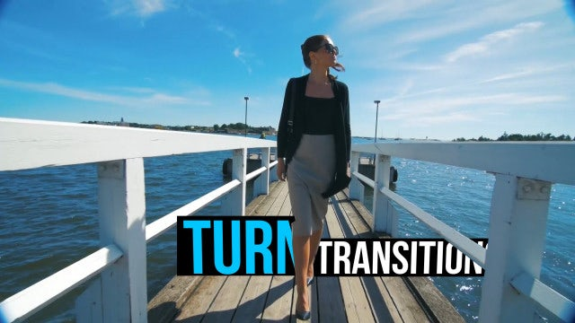 Turn Transitions: Premiere Pro Presets