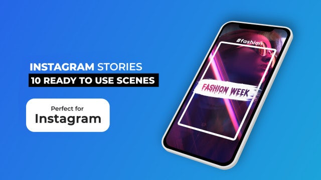 Instagram Stories Pack V6: After Effects Templates