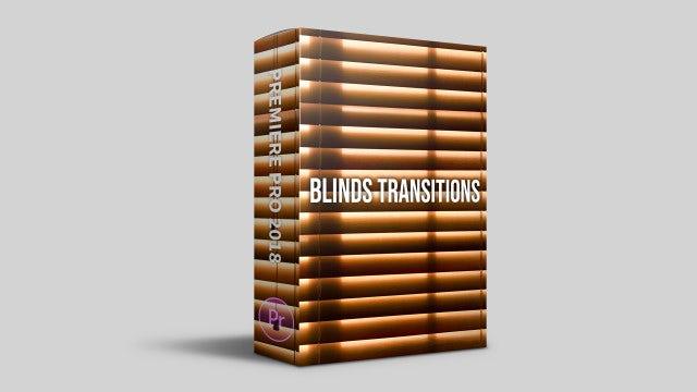 Blinds Transitions: Premiere Pro Templates