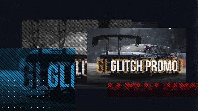 Glitch Sport Opener: Premiere Pro Templates