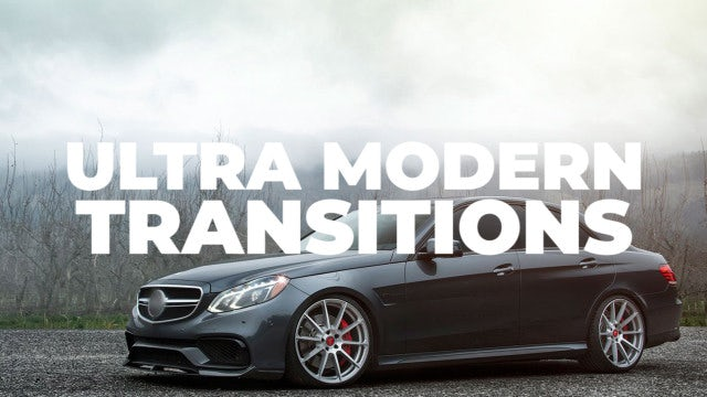 Ultra Modern Transitions: Premiere Pro Presets
