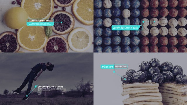 Creative Callout Titles: After Effects Templates