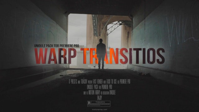 Warp Transitions: Premiere Pro Presets