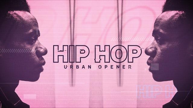 Hip Hop Urban Opener: Premiere Pro Templates