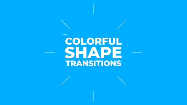 Colorful Shape Transitions: Premiere Pro Presets