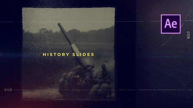 History Trailer: After Effects Templates