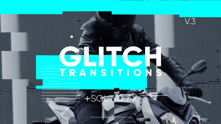 Glitch Transitions V.3: Premiere Pro Presets