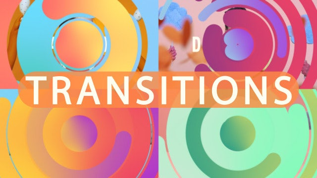 Circle Transitions: After Effects Templates