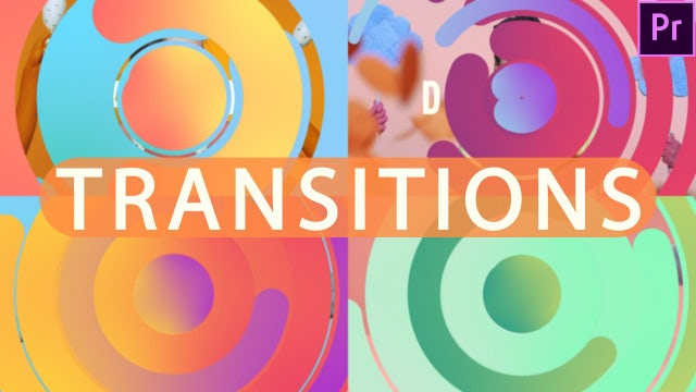 Circle Transitions: Motion Graphics Templates