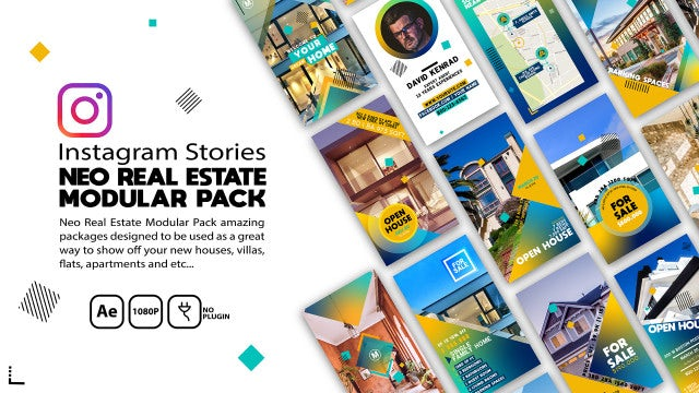 Neo Real Estate Modular Pack: After Effects Templates