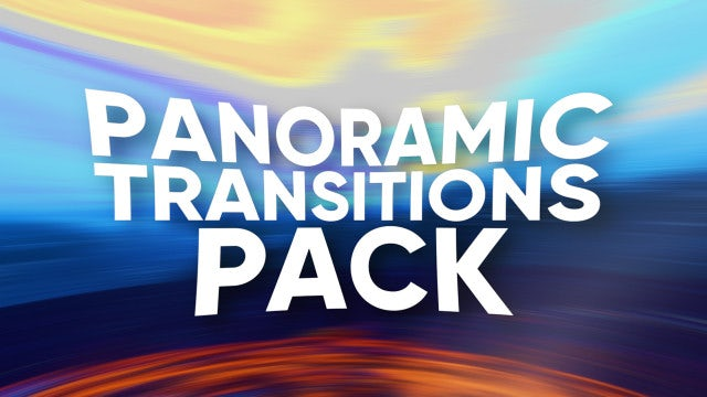 Panoramic Transitions Pack: Premiere Pro Presets