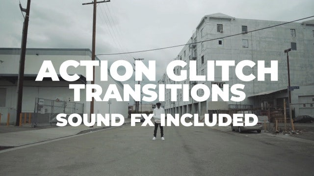 Action Glitch Transitions: Premiere Pro Presets