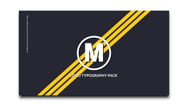 Logo Typography Scenes: Premiere Pro Templates