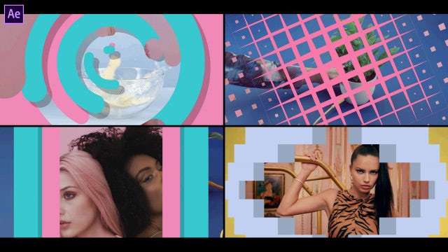 Awesome Transitions: After Effects Templates