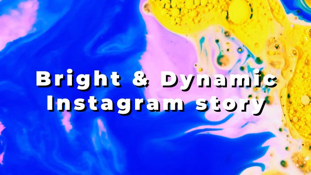 Bright & Dynamic Instagram Story: Premiere Pro Templates