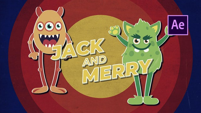 Cartoon Old School Promo: After Effects Templates