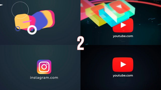 Rectangle Logos Opener: After Effects Templates