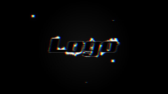 Quick Glitch Logo: Premiere Pro Templates