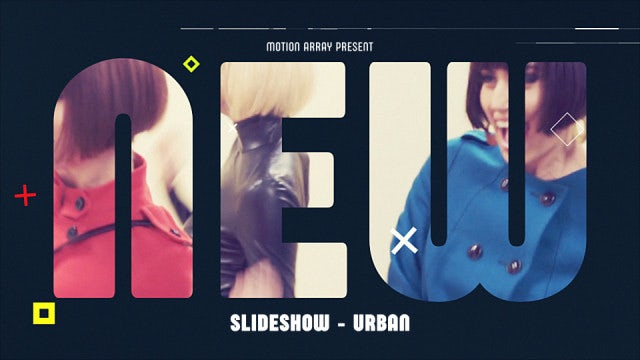Slideshow - Urban: After Effects Templates