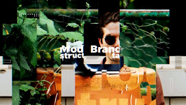 Clean Modern Slideshow: Premiere Pro Templates