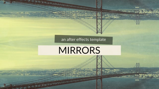 Mirrors: After Effects Templates