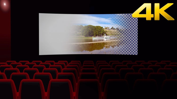 Movie Theater Opener Overlay: Stock Motion Graphics