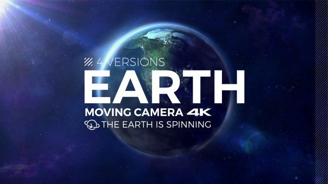 Planet Earth Spinning Pack: Stock Motion Graphics