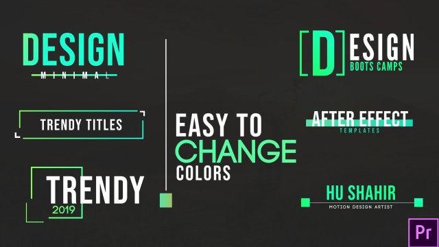 Ultra Modern Titles: Motion Graphics Templates