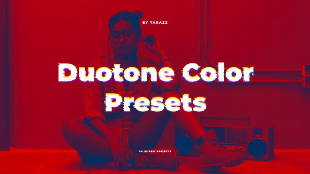 Duotone Color Presets: Premiere Pro Presets