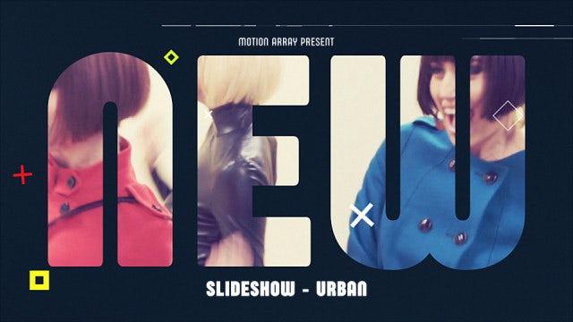 Slideshow - Urban: Premiere Pro Templates