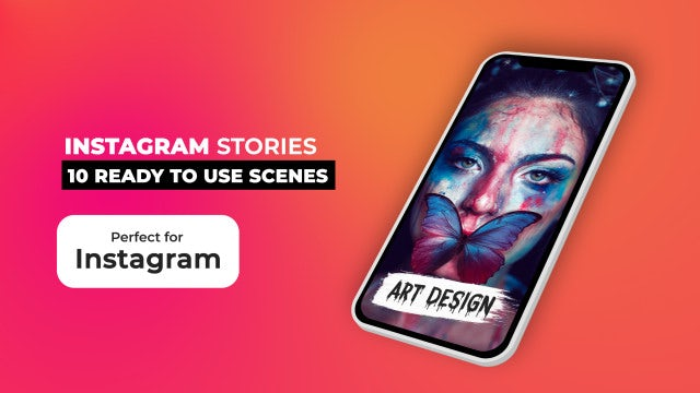 Instagram Stories Pack V7: After Effects Templates