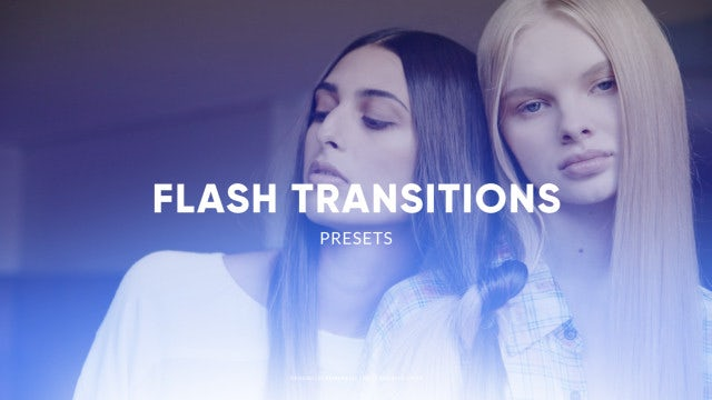 Flash Transitions: After Effects Presets