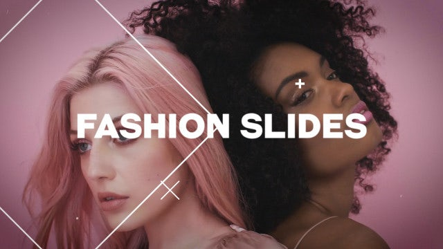 Fashion Slides: Premiere Pro Templates
