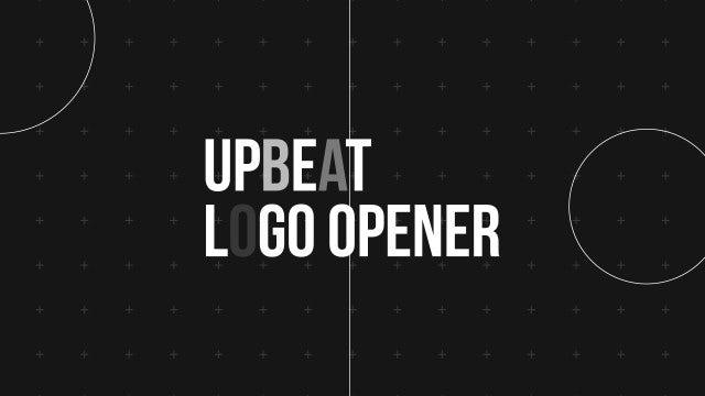 Upbeat Logo Opener: Premiere Pro Templates