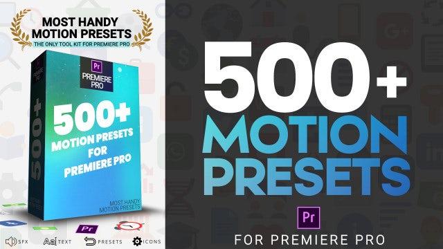 Most Handy Motion Preset For Premiere Pro: Premiere Pro Presets