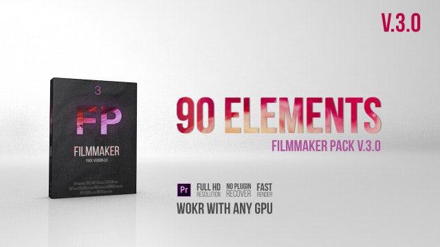 Filmmaker Pack V 3.0: Premiere Pro Presets