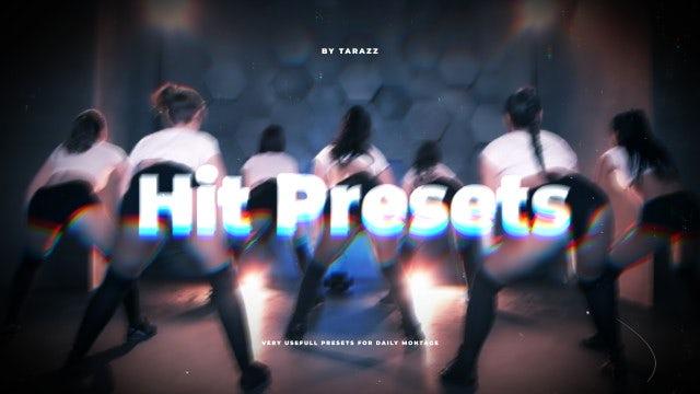 Hit Presets: Premiere Pro Presets