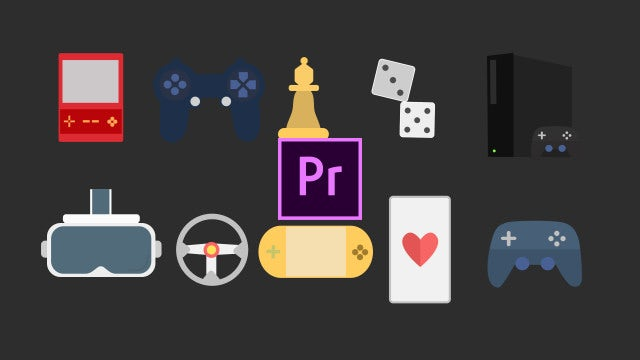 Gaming Icons Pack: Motion Graphics Templates