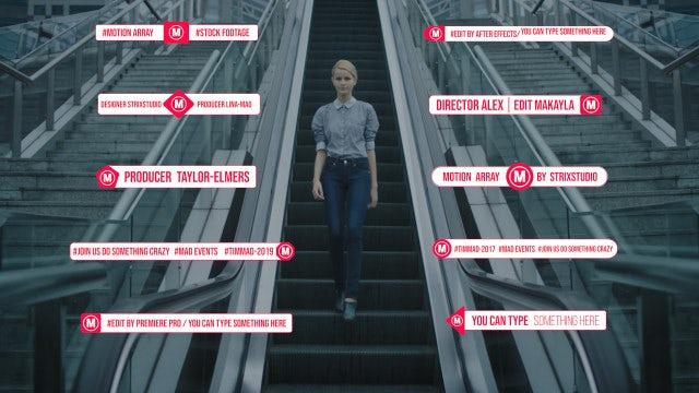Fashion Lower Thirds: Premiere Pro Templates