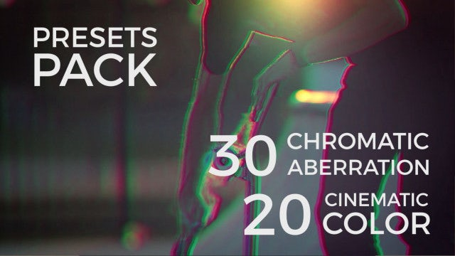 RGB & Color Presets: After Effects Presets