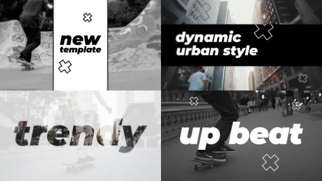 Urban Dynamic Promo: After Effects Templates