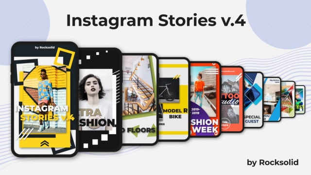 Instagram Stories V.4: After Effects Templates
