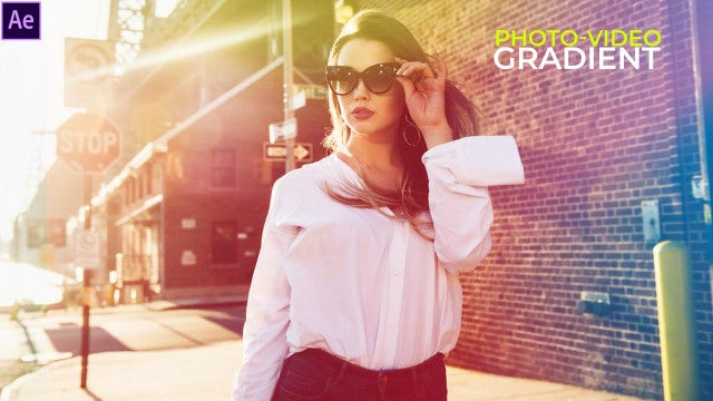 Gradient Fashion Presentation: After Effects Templates