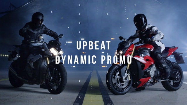 Upbeat Dynamic Promo: After Effects Templates