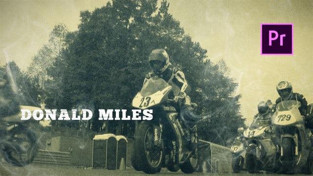 Vintage Old School Promo: Premiere Pro Templates