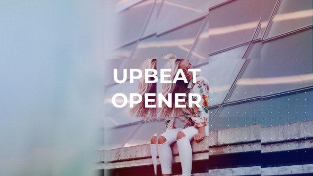 Upbeat Opener Slideshow: Premiere Pro Templates