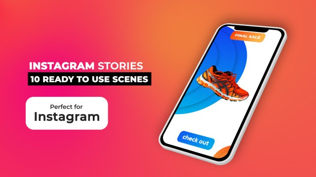 Instagram Stories Pack V8: After Effects Templates
